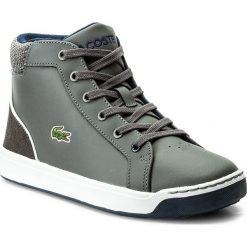 Kowbojki damskie: Sneakersy LACOSTE – Explorateur Lace 317 1 Caj 7-34CAJ0003248 Dk Grey