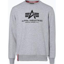 Bejsbolówki męskie: Alpha Industries - Męska bluza nierozpinana, szary
