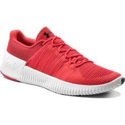 Buty UNDER ARMOUR - Ua Ultimate Speed 3000329-600 Pie/Wht/Blk. Czerwone buty fitness męskie marki Under Armour, z materiału. W wyprzedaży za 259,00 zł.