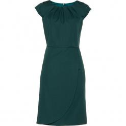 Sukienka ołówkowa bonprix głęboki zielony. Zielone sukienki balowe marki bonprix, ołówkowe. Za 109,99 zł.