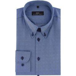 Koszula BIAGIO 16-06-16-K. Czarne koszule męskie na spinki marki Giacomo Conti, m, z bawełny, z klasycznym kołnierzykiem. Za 199,00 zł.