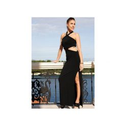 Długa sukienka Lady in Red. Czarne długie sukienki WOW, na co dzień, m, eleganckie, z długim rękawem. Za 260,00 zł.