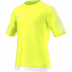 Adidas Koszulka piłkarska męska Estro 15 żółty-biała r. XL (S16160). Białe koszulki sportowe męskie marki Adidas, m, do piłki nożnej. Za 49,00 zł.