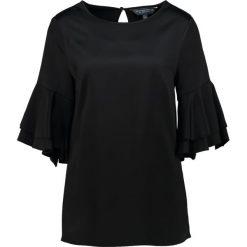 Bluzki asymetryczne: Dorothy Perkins Tall RUFFLE Bluzka black