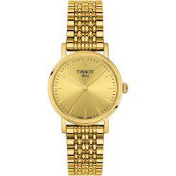 RABAT ZEGAREK TISSOT Everytime Lady T109.210.33.021.00. Żółte zegarki damskie TISSOT, ze stali. W wyprzedaży za 1056,00 zł.