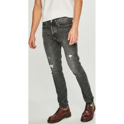 Calvin Klein Jeans - Jeansy. Szare jeansy męskie skinny Calvin Klein Jeans. Za 579,90 zł.
