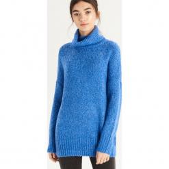 Luźny sweter z golfem - Niebieski. Niebieskie golfy damskie marki Sinsay, l. Za 79,99 zł.
