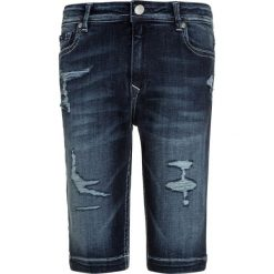 Kaporal PILOW Szorty jeansowe crades. Niebieskie spodenki chłopięce Kaporal, z bawełny. Za 209,00 zł.