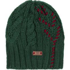 Czapka damska Drzewo życia zielona. Zielone czapki zimowe damskie marki Art of Polo. Za 37,60 zł.