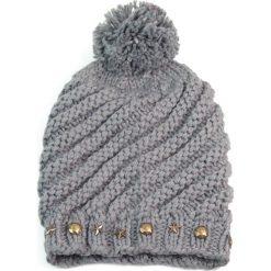 Zimowa czapka damska szara r. 56-59 cm. Szare czapki zimowe damskie Art of Polo, na zimę. Za 37,60 zł.