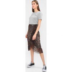 Spódniczki trapezowe: ICHI LANA Spódnica trapezowa sudan brown