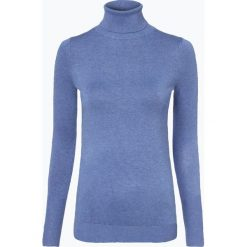 Golfy damskie: Marie Lund - Sweter damski, niebieski
