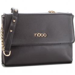 Torebka NOBO - NBAG-F1450-C020 Czarny. Czarne torebki klasyczne damskie marki Nobo, ze skóry ekologicznej. W wyprzedaży za 139,00 zł.