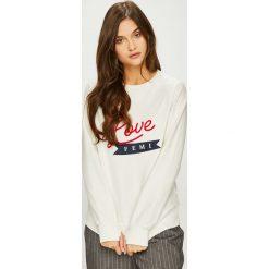 Femi Stories - Bluza Ella. Szare bluzy z nadrukiem damskie marki Femi Stories, l, z bawełny, bez kaptura. Za 229,90 zł.