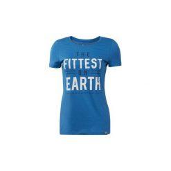 T-shirty z krótkim rękawem Reebok Sport  Koszulka CrossFit Games. Niebieskie bluzki sportowe damskie Reebok Sport, l, z krótkim rękawem. Za 119,00 zł.