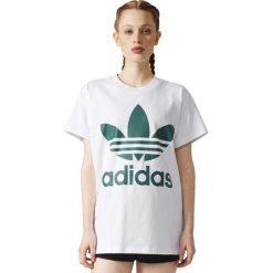 Adidas Koszulka damska BIG TREFOIL TEE biała r. 40 (BR9822). Białe topy sportowe damskie Adidas. Za 150,06 zł.