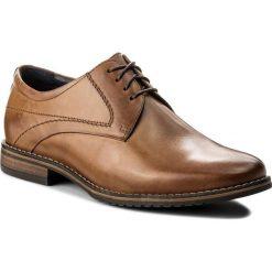 Półbuty LASOCKI FOR MEN - MB01-ALDI-01 Camel. Brązowe buty wizytowe męskie Lasocki For Men, z materiału. Za 189,99 zł.
