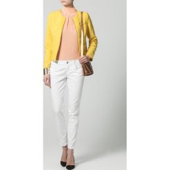 Rurki damskie: Benetton Jeans Skinny Fit white