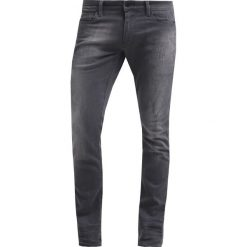 GStar REVEND SUPER SLIM Jeans Skinny Fit slander grey superst. Szare jeansy męskie relaxed fit marki G-Star. Za 459,00 zł.