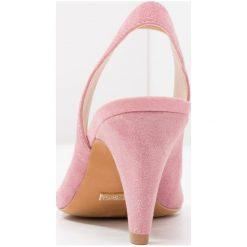 Buty ślubne damskie: Topshop JETSET V CUT SLING Czółenka pink