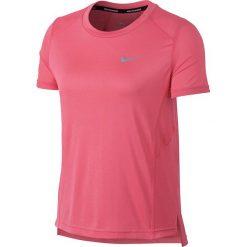 Koszulka do biegania damska NIKE DRY MILER TOP / 932499-823 - DRY MILER TOP. Czarne bluzki z odkrytymi ramionami marki Nike, xs, z bawełny. Za 95,00 zł.