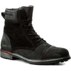 Botki męskie: Kozaki NOBRAND - Iron 13272 Black
