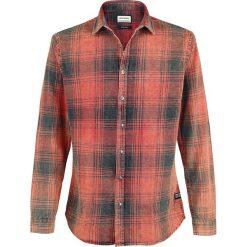 Shine Original Wilfred Koszula czerwony. Czarne koszule męskie marki Leonardo Carbone, s, z materiału, z długim rękawem. Za 199,90 zł.