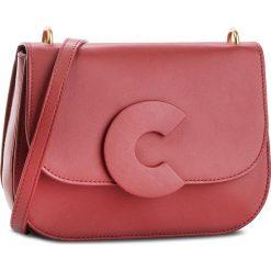 Torebka COCCINELLE - CK0 Craquante Smooth E1 CK0 12 01 01 Bourgogne R00. Czerwone listonoszki damskie Coccinelle, ze skóry, na ramię. W wyprzedaży za 1189,00 zł.
