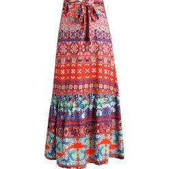 Długie spódnice: Ivko PRINTED LONG SKIRT Długa spódnica orange