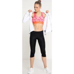Adidas Performance JACKET  Kurtka do biegania white. Białe kurtki damskie do biegania adidas Performance, l, z elastanu. Za 499,00 zł.