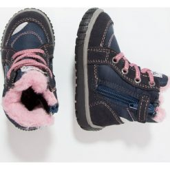 Lurchi JONA TEX Śniegowce navy. Czarne buty zimowe damskie marki Lurchi, z materiału. W wyprzedaży za 167,20 zł.