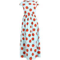 Długie sukienki: Compañía fantástica TOMATO DRESS Długa sukienka light blue