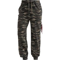 Spodnie dresowe męskie: Alpha Industries X FIT PANT Spodnie treningowe woodl camo