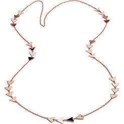 Naszyjniki damskie: Naszyjnik w kolorze różowego złota