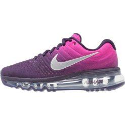Nike Performance AIR MAX 2017 Obuwie do biegania treningowe purple dynasty/summit white/fire pink/peach cream. Czerwone buty sportowe dziewczęce marki Nike Performance, z materiału, do biegania. W wyprzedaży za 433,30 zł.