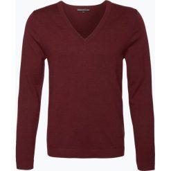 Swetry męskie: Drykorn – Męski sweter z wełny merino – Marc, czerwony