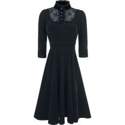 H&R London Nightshade Velvet Dress Sukienka czarny. Czarne sukienki koronkowe marki H&R London, xl. Za 304,90 zł.