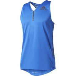 Adidas Koszulka męska Adizero Singlet Men niebieska r. XL (S98013). Niebieskie koszulki sportowe męskie Adidas, m. Za 159,00 zł.