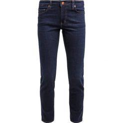 Mustang SISSY SLIM  Jeansy Slim Fit dark vintage. Niebieskie jeansy damskie marki Mustang, z aplikacjami, z bawełny. Za 269,00 zł.