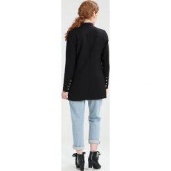 Płaszcze damskie pastelowe: YAS YASSAVIA  Krótki płaszcz black