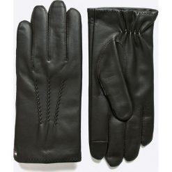 Rękawiczki męskie: Tommy Hilfiger – Rękawiczki skórzane