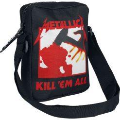 Torby na ramię męskie: Metallica Kill 'Em All Torba na ramię czarny