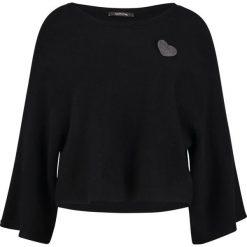 Swetry klasyczne damskie: comma Sweter black