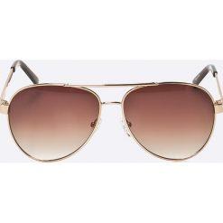 Okulary przeciwsłoneczne męskie: Guess Jeans – Okulary GU0113F.H74
