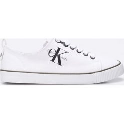 Calvin Klein Jeans - Tenisówki Dora. Szare tenisówki damskie marki Calvin Klein Jeans, z jeansu. Za 339,90 zł.