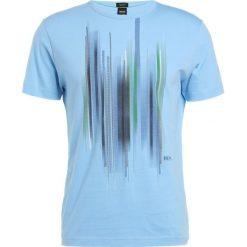 T-shirty męskie z nadrukiem: BOSS Green Tshirt z nadrukiem alaskan blue