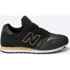New Balance - Buty WL373NG. Czarne buty sportowe damskie New Balance, z materiału. Za 299,90 zł.
