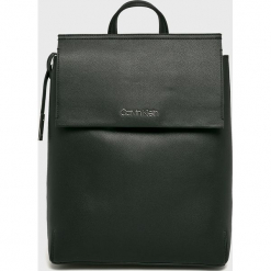 Calvin Klein - Plecak. Szare plecaki damskie Calvin Klein, ze skóry ekologicznej. Za 649,90 zł.
