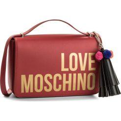 Torebka LOVE MOSCHINO - JC4311PP05KQ0500  Rosso. Czerwone listonoszki damskie Love Moschino. W wyprzedaży za 599,00 zł.