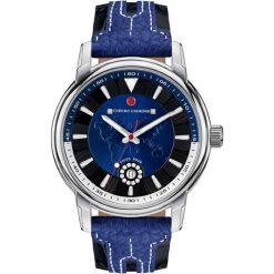 """Zegarki męskie: Zegarek kwarcowy """"Nereus"""" w kolorze niebiesko-srebrnym"""